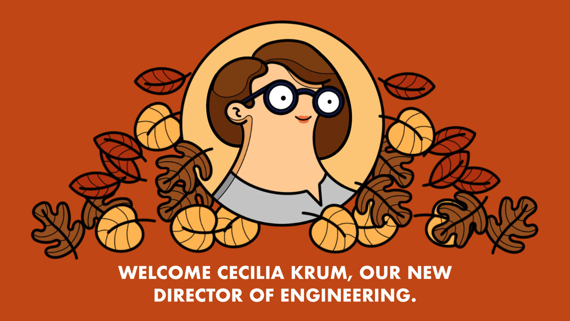 """Featured image for """"Welcome Cecilia Krum, Our New Director of Engineering"""""""