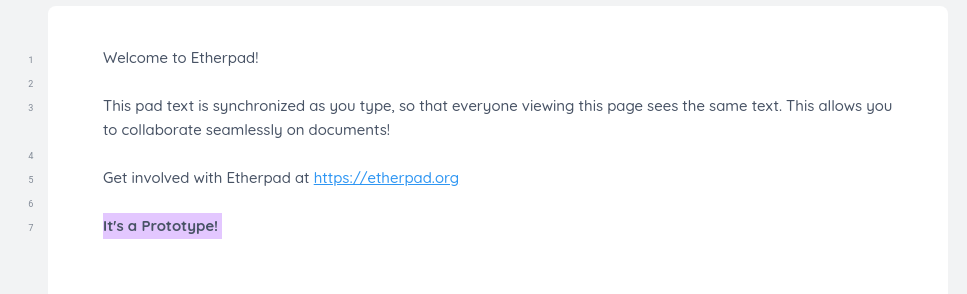"""Featured image for """"Permanent's Etherpad Prototype is Ready!"""""""